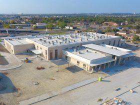 Aerial view of Clifton Par campus